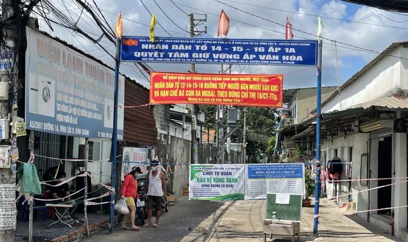 Xây dựng nhà trọ an toàn thực hiện 'vùng xanh' ở xã Vĩnh Lộc B - ảnh 10