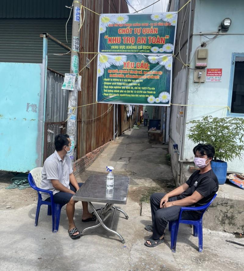 Xây dựng nhà trọ an toàn thực hiện 'vùng xanh' ở xã Vĩnh Lộc B - ảnh 3