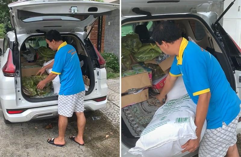 H'Hen Niê, Quyền Linh, Hoàng Sơn hỗ trợ rau củ, lương thực cho bà con, trẻ em - ảnh 2