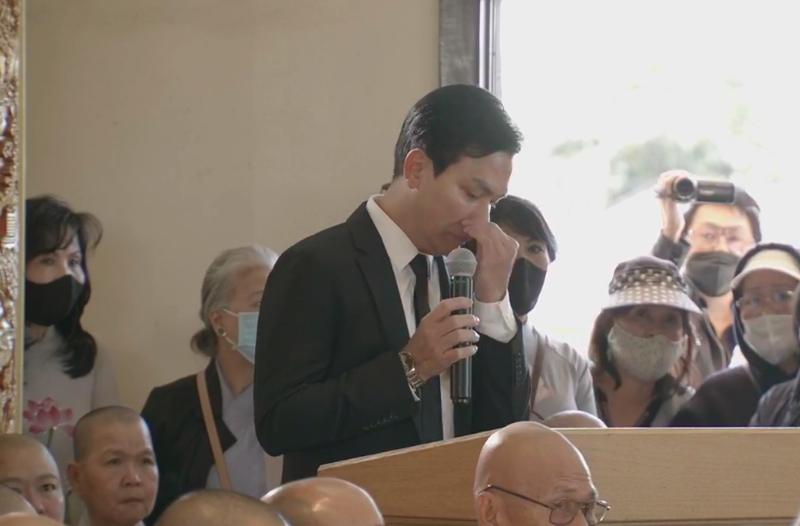 Mạnh Quỳnh lên tiếng về 'những ồn ào' thời gian qua tại tang lễ ca sĩ Phi Nhung - ảnh 2