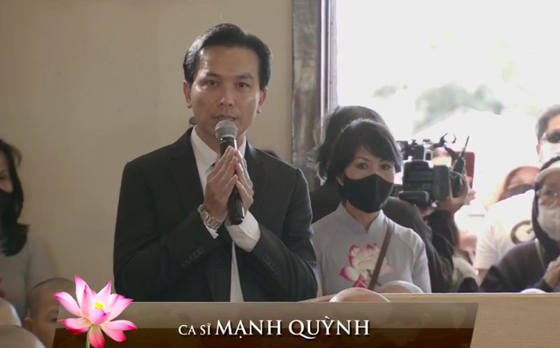Mạnh Quỳnh lên tiếng về 'những ồn ào' thời gian qua tại tang lễ ca sĩ Phi Nhung - ảnh 1