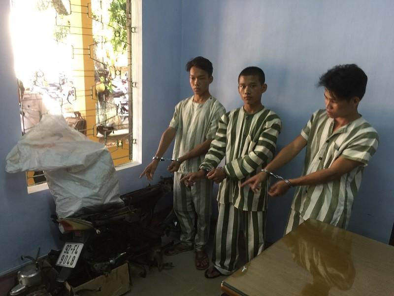 Bắt nhóm trộm xe ở Huế tiêu thụ ở Đà Nẵng  - ảnh 1