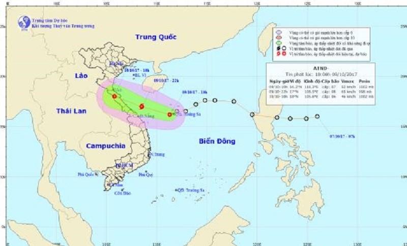 Thừa Thiên-Huế: HS nghỉ học vì thời tiết nguy hiểm - ảnh 2