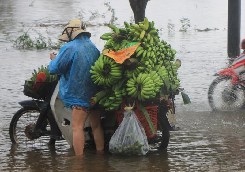 Lũ vẫn đang chia cắt vùng trũng Quảng Điền - ảnh 2