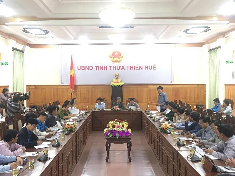 Thừa Thiên-Huế triển khai chống bão số 13 - ảnh 1