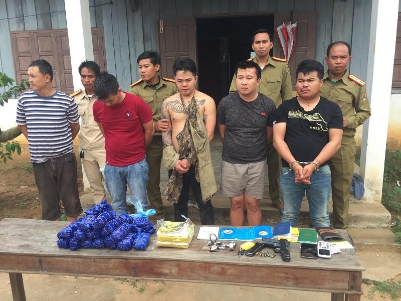 Bắt vụ ma túy lớn nhất từ trước tới nay tại Quảng Trị - ảnh 1