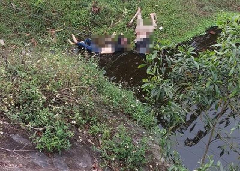 Bàng hoàng phát hiện thi thể 2 thanh niên dưới chân cầu - ảnh 1
