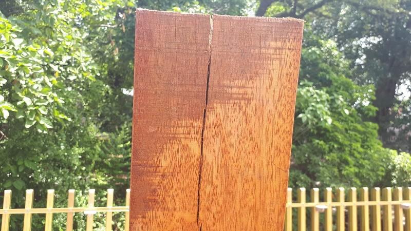 Đường đi bộ gỗ lim ở Huế xuất hiện nhiều vết nứt - ảnh 5