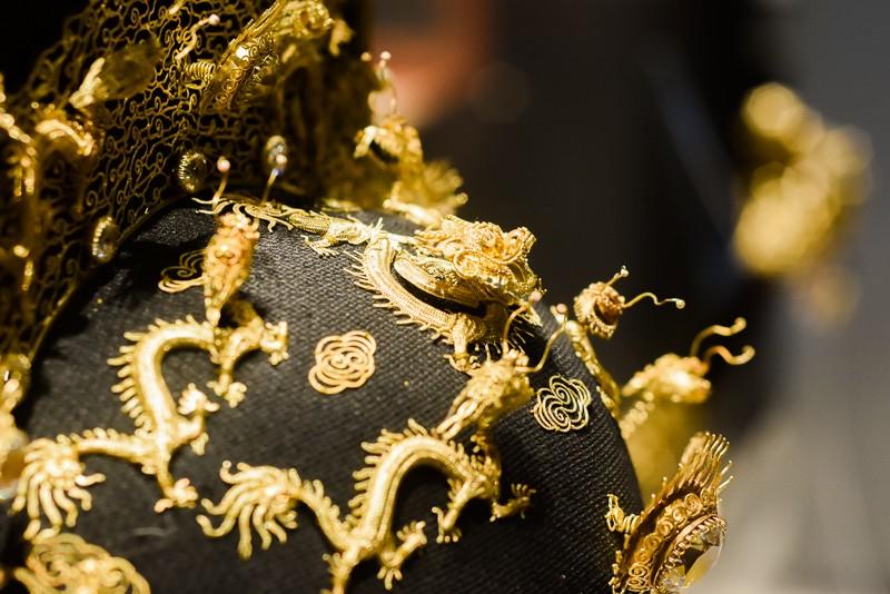 Đến Huế ngắm rồng - phượng trên bảo vật triều Nguyễn - ảnh 2