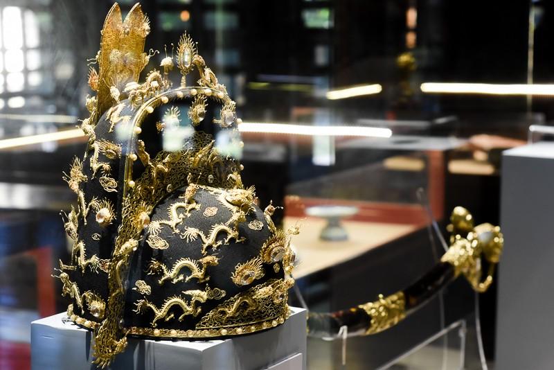 Đến Huế ngắm rồng - phượng trên bảo vật triều Nguyễn - ảnh 1