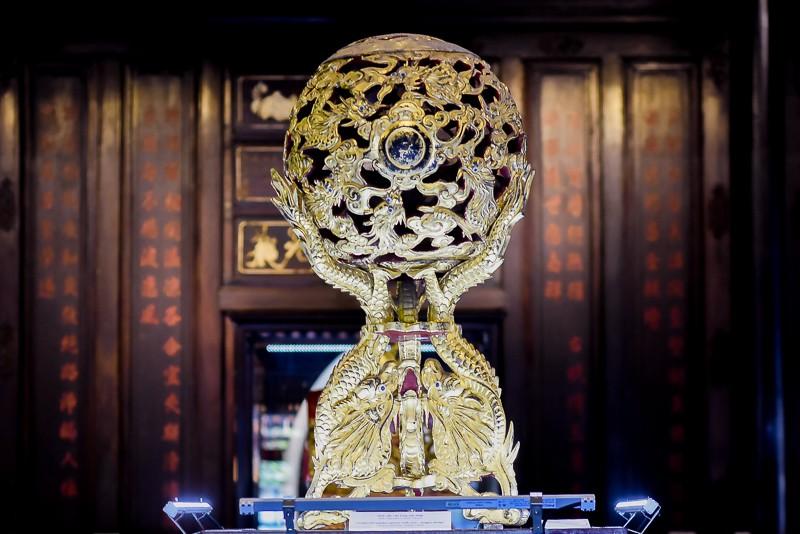 Đến Huế ngắm rồng - phượng trên bảo vật triều Nguyễn - ảnh 4