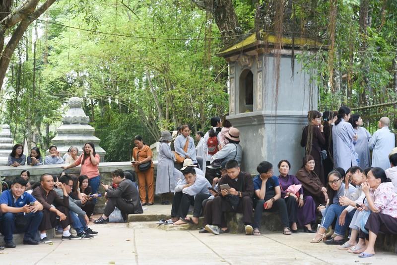 Phật tử đổ về chùa mong gặp thiền sư Thích Nhất Hạnh - ảnh 3