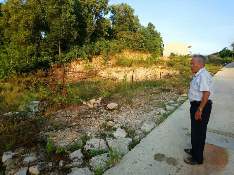 1 chủ tịch phường bị cách chức vì sai phạm về đất đai - ảnh 1