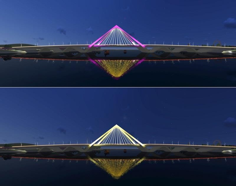 Huế mạnh tay chi tiền thi thiết kế cầu vượt sông Hương - ảnh 1