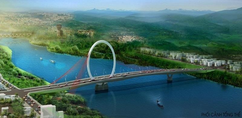 Huế mạnh tay chi tiền thi thiết kế cầu vượt sông Hương - ảnh 2
