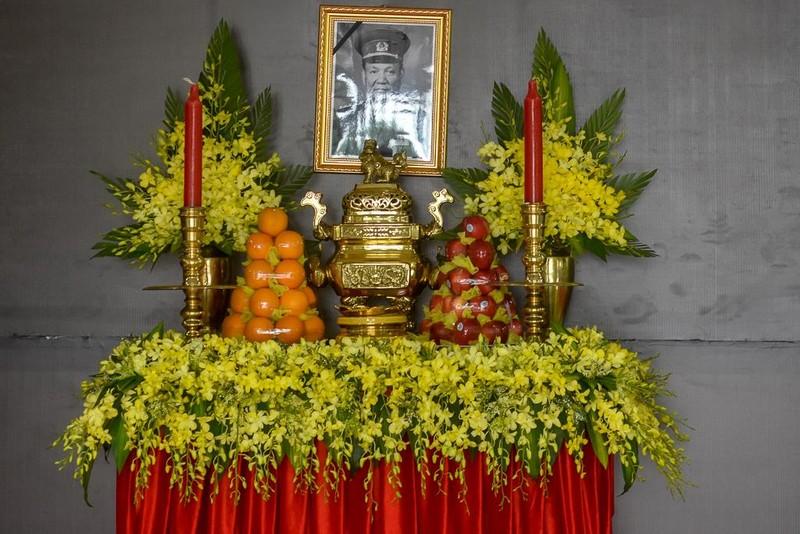 Chùm ảnh Huế chuẩn bị lễ tang Đại tướng Lê Đức Anh - ảnh 3