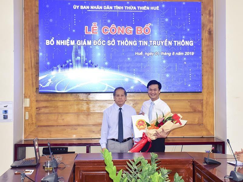 Thừa Thiên-Huế có tân giám đốc Sở TT&TT 38 tuổi - ảnh 1