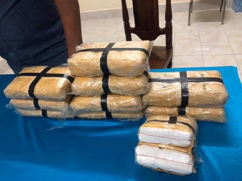Một người Lào mang 60.000 viên ma túy vào Việt Nam - ảnh 1