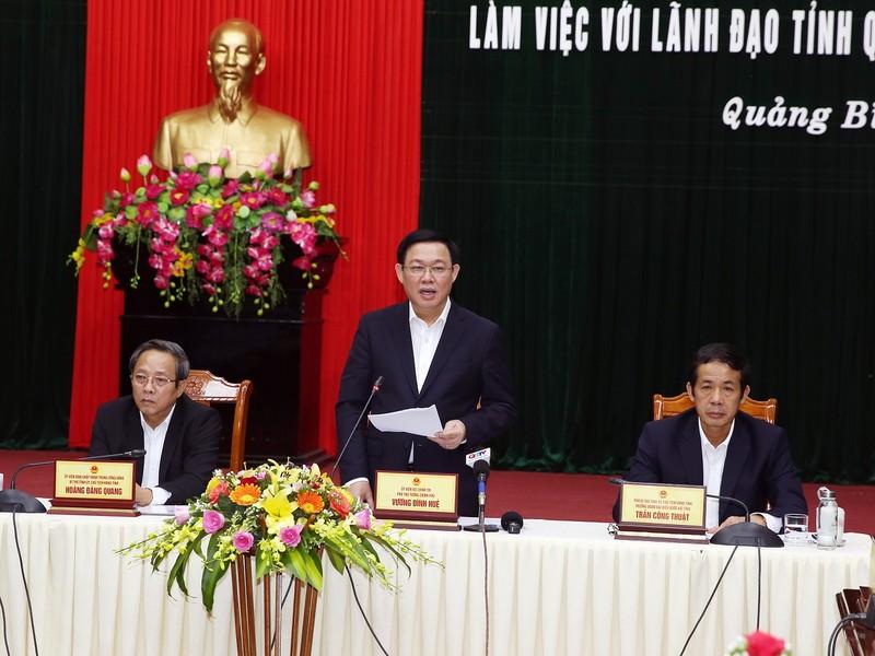 Phó Thủ tướng: Quảng Bình cần tập trung phát triển du lịch - ảnh 1
