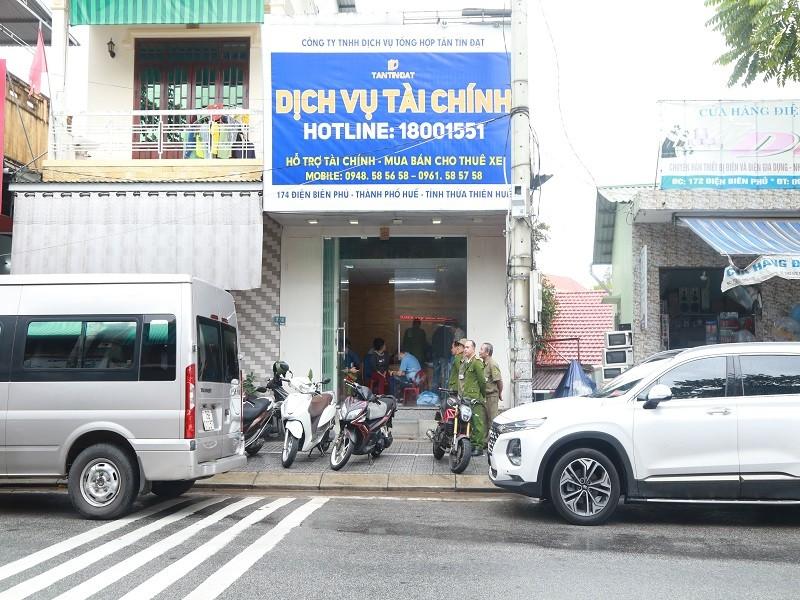 Thừa Thiên-Huế phối hợp Nghệ An phá băng cho vay lãi nặng  - ảnh 1
