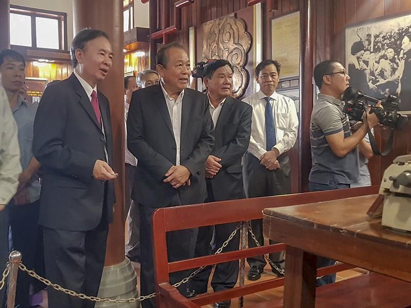 Phó Thủ tướng Trương Hòa Bình thăm, trao quà tết tại Quảng Trị - ảnh 1