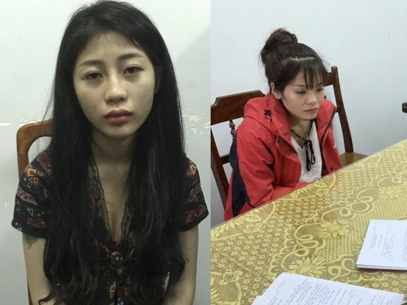 2 'hot girl' Quảng Bình mua bán gần 5.000 viên ma túy - ảnh 1