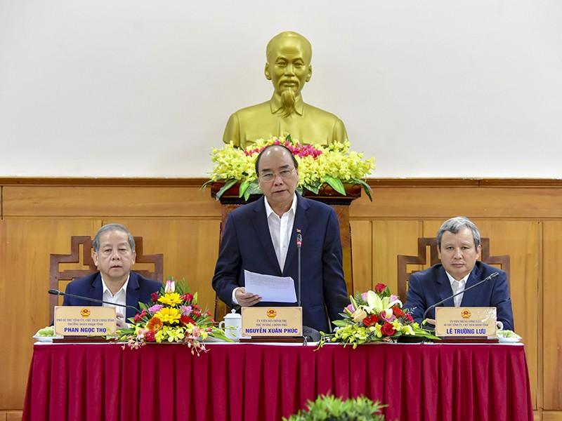 Thủ tướng làm việc tại Thừa Thiên-Huế - ảnh 1