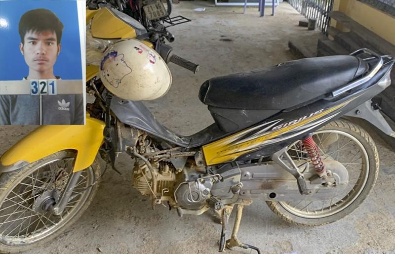 Trộm xe máy, tháo rời nhiều bộ phận hòng qua mắt công an - ảnh 1