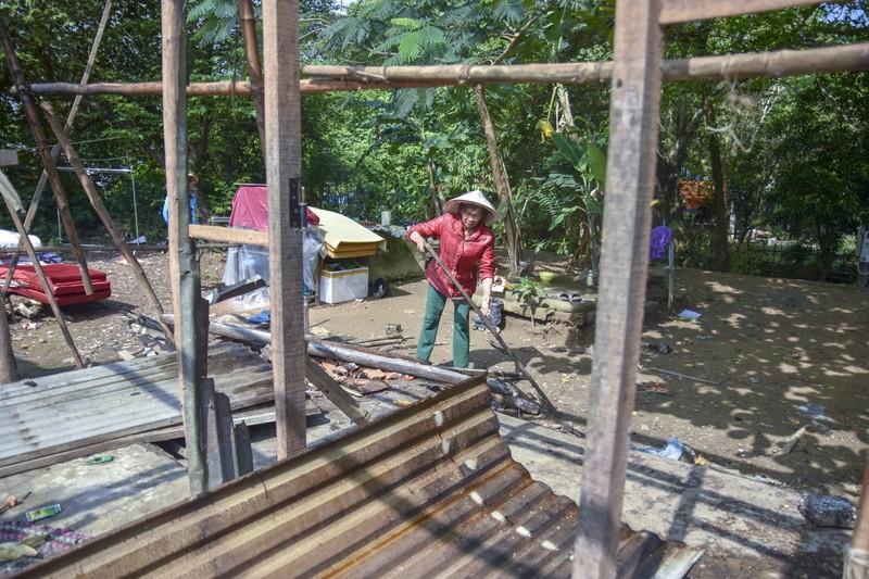 Người dân dỡ nhà, khép lại chuỗi ngày sống 'treo' trên di tích - ảnh 2