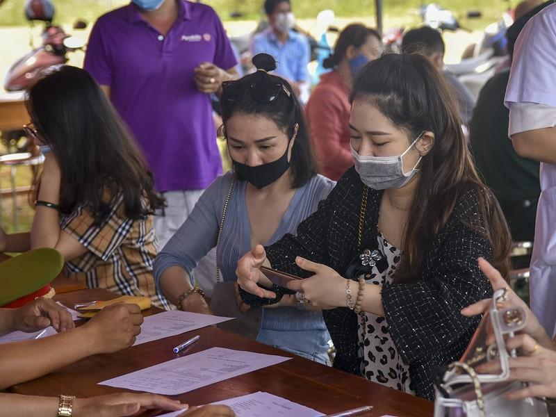 Thừa Thiên-Huế bắt đầu kiểm tra y tế tại các chốt chặn - ảnh 11