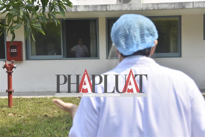 Phóng sự ảnh: Bên trong khu điều trị bệnh nhân COVID-19 Huế - ảnh 3