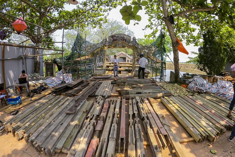 Cầu cổ và hiếm nhất Việt Nam được tháo dỡ để trùng tu - ảnh 1