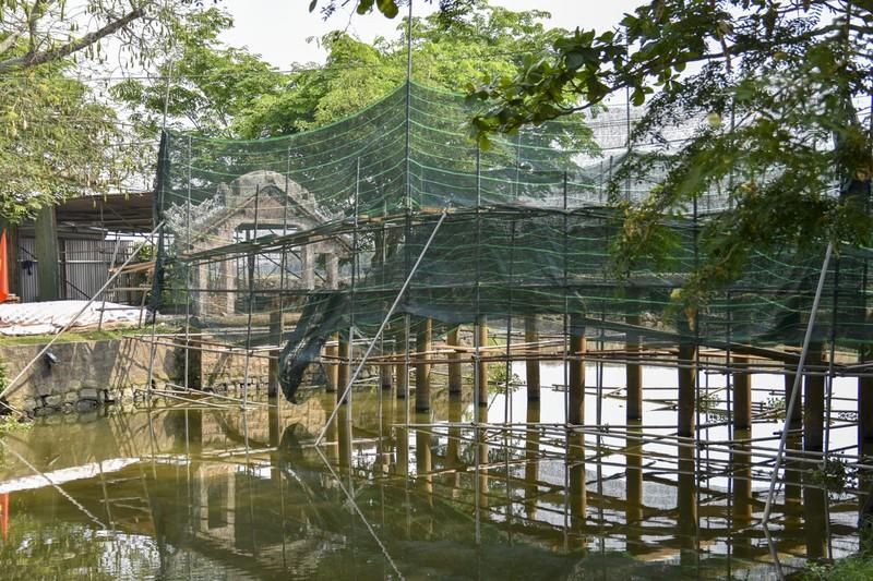 Cầu cổ và hiếm nhất Việt Nam được tháo dỡ để trùng tu - ảnh 2