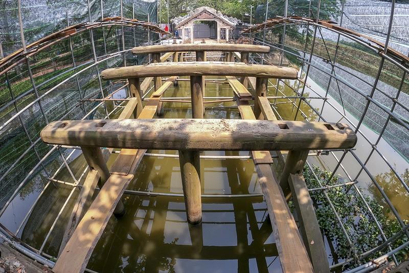 Cầu cổ và hiếm nhất Việt Nam được tháo dỡ để trùng tu - ảnh 10