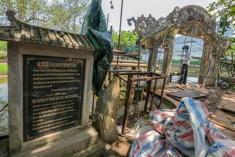 Cầu cổ và hiếm nhất Việt Nam được tháo dỡ để trùng tu - ảnh 7