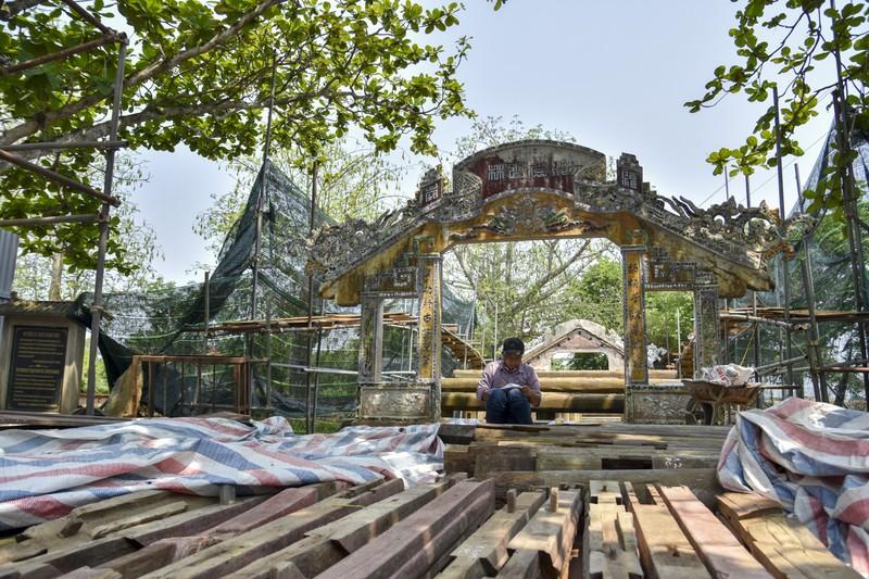 Cầu cổ và hiếm nhất Việt Nam được tháo dỡ để trùng tu - ảnh 3
