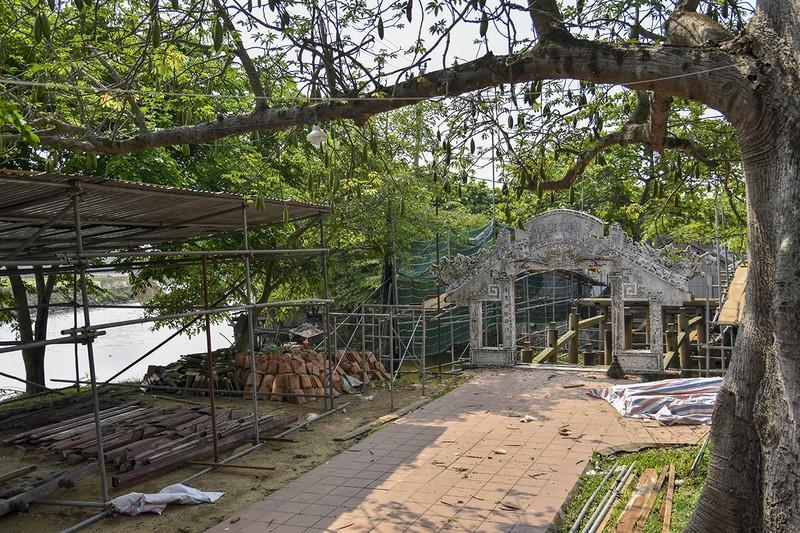 Cầu cổ và hiếm nhất Việt Nam được tháo dỡ để trùng tu - ảnh 6