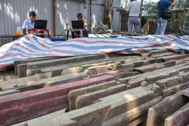 Cầu cổ và hiếm nhất Việt Nam được tháo dỡ để trùng tu - ảnh 4