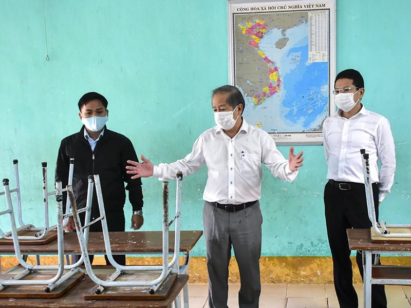 Thừa Thiên-Huế chuẩn bị đón học sinh trở lại trường - ảnh 1