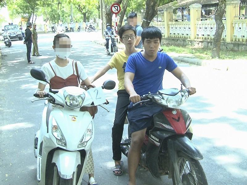 3 thanh thiếu niên gây hàng loạt vụ cướp giật tại Huế - ảnh 1