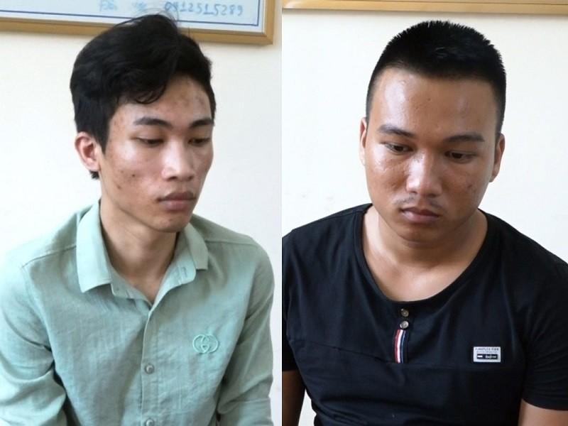 2 thanh niên gửi link giả ra nước ngoài để lừa lao động Việt - ảnh 1