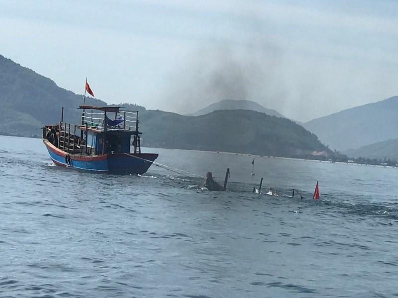 Thuyền câu mực va chạm với tàu cá làm 1 người chết, 1 mất tích - ảnh 1