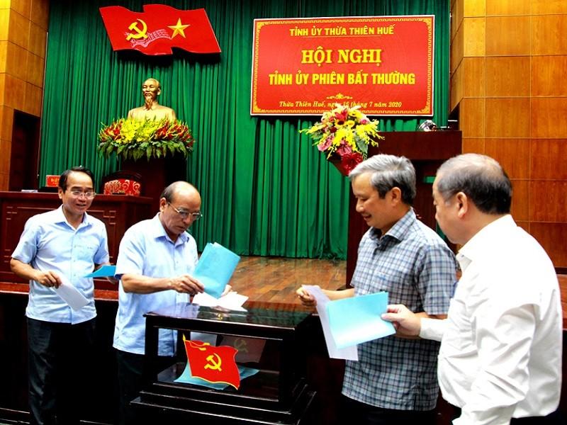 Giám đốc Công an Thừa Thiên - Huế làm Phó bí thư Tỉnh ủy - ảnh 1