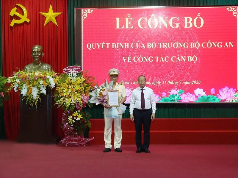 Thừa Thiên - Huế có tân giám đốc công an  - ảnh 1