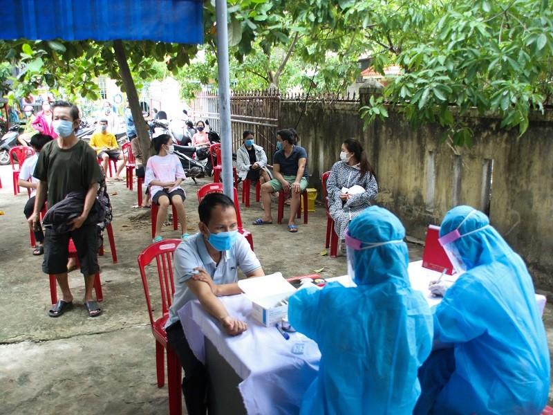 Quảng Trị: Phong tỏa khu vực 2 bệnh nhân COVID-19 sinh sống - ảnh 1