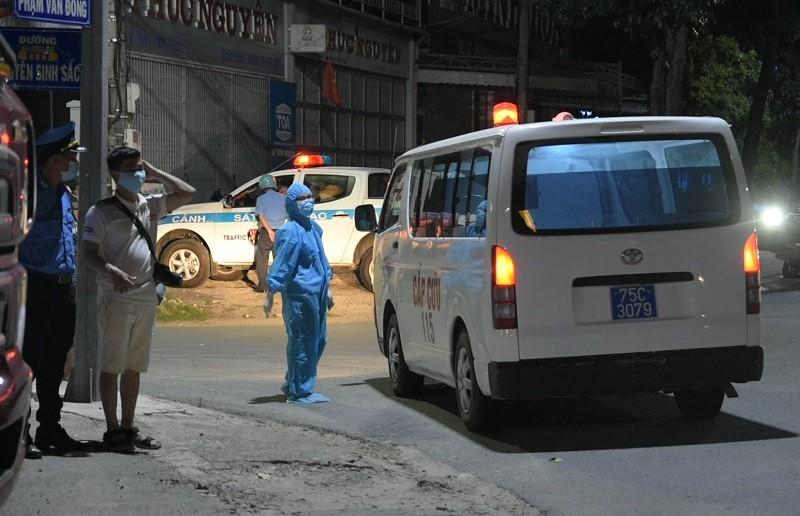 3 tài xế ở Quảng Nam nhưng khai Bình Định để chở hàng ra Huế - ảnh 3
