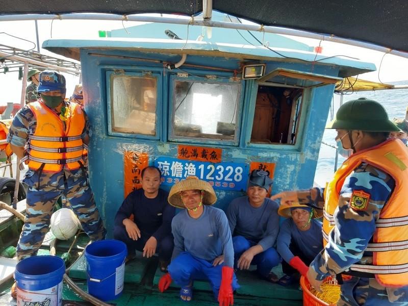 Tàu cá Trung Quốc vào vùng biển gần đảo Cồn Cỏ - ảnh 1