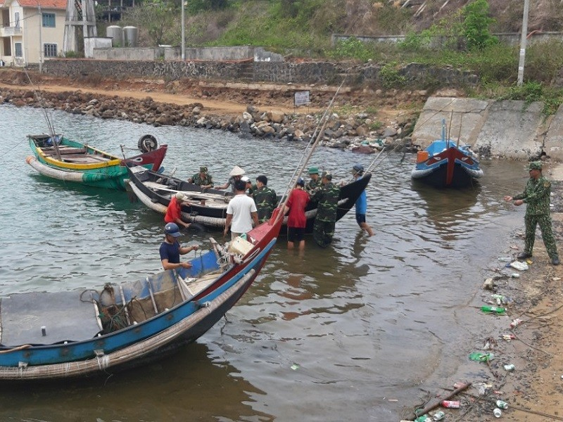 Quảng Trị, Huế: Học sinh nghỉ học từ ngày 18-9 để tránh bão - ảnh 1