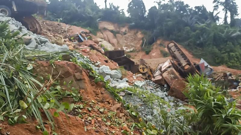 Thủy điện Rào Trăng 3 tan hoang trong đống đổ nát - ảnh 6