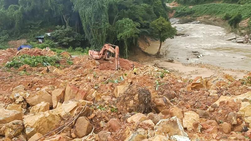 Thủy điện Rào Trăng 3 tan hoang trong đống đổ nát - ảnh 2